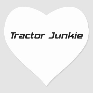 Regalos del tractor del drogadicto del tractor por pegatina en forma de corazón