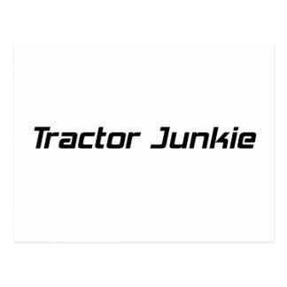 Regalos del tractor del drogadicto del tractor por postal