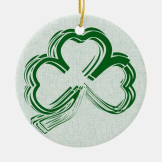 Regalos del trébol del día de St Patrick Adorno De Navidad