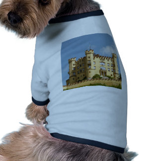 Regalos del turista de Alemania del castillo de Ho Camisa De Mascota