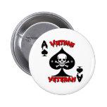 Regalos del veterano de Vietnam 68-69 Pin