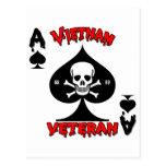Regalos del veterano de Vietnam 68-69 Tarjeta Postal