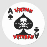 Regalos del veterano de Vietnam 69-70 Etiqueta