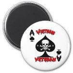 Regalos del veterano de Vietnam 69-70 Imanes Para Frigoríficos