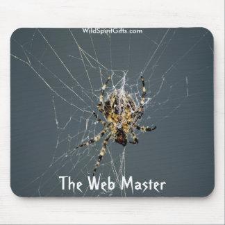 "'Regalos del Web de araña"" Tapetes De Raton"