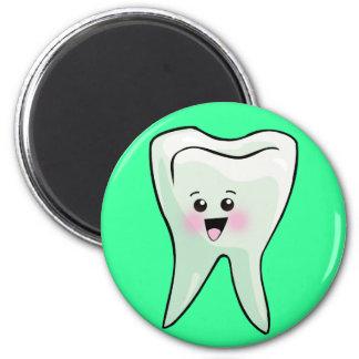 Regalos dentales del humor imán redondo 5 cm