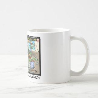 Regalos divertidos de Deliquency Rick Londres de l Tazas De Café