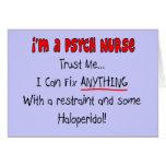 Regalos divertidos de la enfermera de Psych Felicitaciones