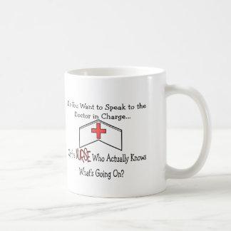 Regalos divertidos de la enfermera taza de café