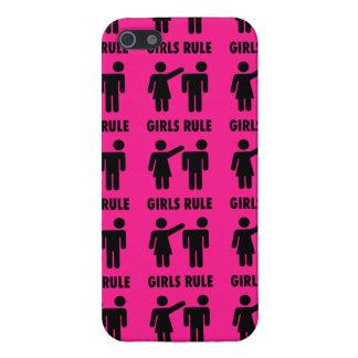Regalos divertidos de la feminista de las rosas fu iPhone 5 fundas