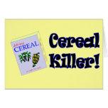 Regalos divertidos de las camisetas del asesino de tarjeta