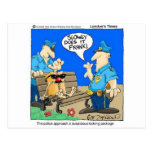 Regalos divertidos del dibujo animado de la policí postal