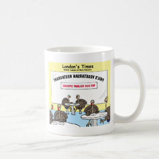 Regalos divertidos del dibujo animado raro vegetar tazas de café