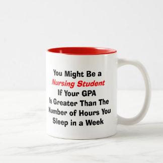 Regalos divertidos del estudiante del oficio de en tazas de café