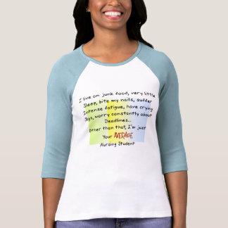 Regalos divertidos del estudiante del oficio de camiseta