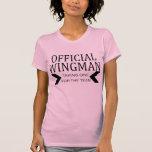 Regalos divertidos del humor del Wingman oficial Camiseta