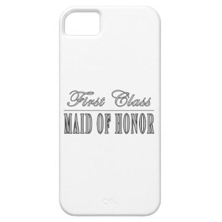 Regalos divertidos elegantes: Criada de primera cl iPhone 5 Case-Mate Cárcasa