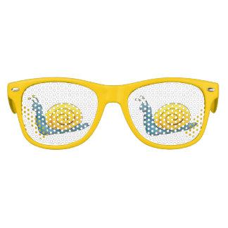 Regalos divertidos felices del caracol el | lentes de fiesta