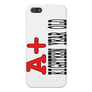 Regalos divertidos para 18 años de A+ Dieciocho añ iPhone 5 Protectores