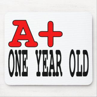 Regalos divertidos para 1 año A+ Un año Tapete De Ratones