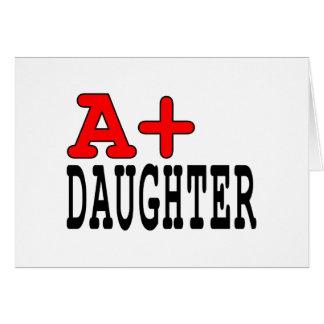 Regalos divertidos para las hijas A+ Hija Felicitacion