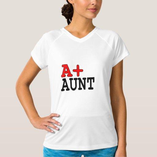 Regalos divertidos para las tías: A+ Tía Playera