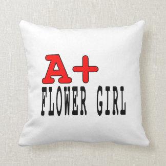 Regalos divertidos para los floristas: A+ Florista Cojines