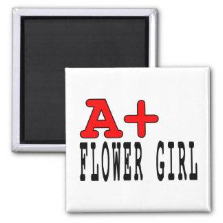 Regalos divertidos para los floristas: A+ Florista Imanes De Nevera