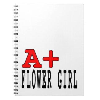 Regalos divertidos para los floristas: A+ Florista Cuaderno