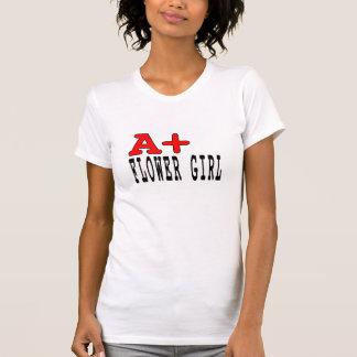 Regalos divertidos para los floristas: A+ Florista Camiseta