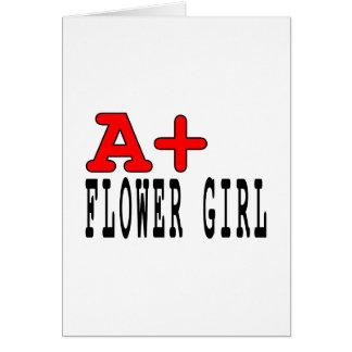 Regalos divertidos para los floristas: A+ Florista Felicitación