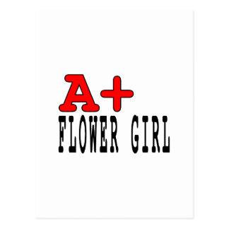 Regalos divertidos para los floristas: A+ Florista Postales