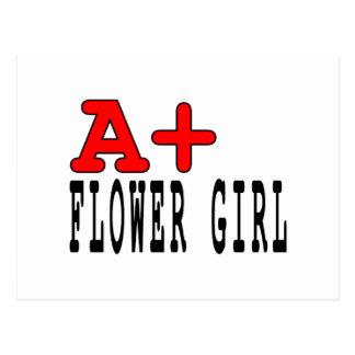 Regalos divertidos para los floristas: A+ Florista Postal