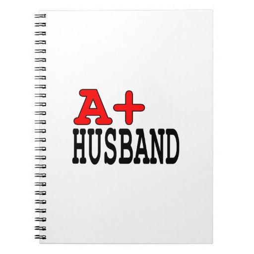 Regalos divertidos para los maridos: A+ Marido Libreta