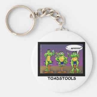 Regalos divertidos y camisetas de los Toadstools p Llaveros Personalizados