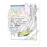 Regalos divertidos y camisetas del dibujo animado  tarjetas postales