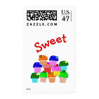 """Regalos """"dulces"""" de los amantes de la magdalena timbres postales"""