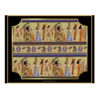Regalos egipcios de la ropa de la serie II de los Postal