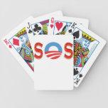 Regalos el SOS anti-Obama Barajas De Cartas