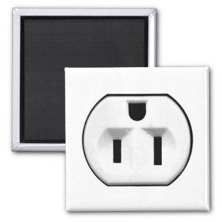 Regalos eléctricos divertidos del mercado el | par imán cuadrado