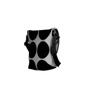 Regalos elegantes para ella Lunares negros Bolsas De Mensajería