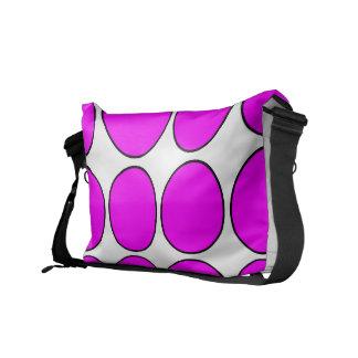 Regalos elegantes para ella Lunares rosados Bolsas De Mensajería