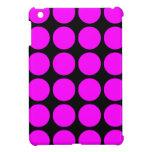 Regalos elegantes para ella: Lunares rosados iPad Mini Cárcasa