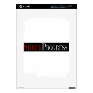 Regalos escarpados del progreso pegatina skin para iPad 3