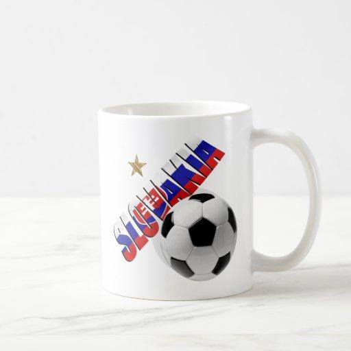 Regalos eslovacos de la bandera de la estrella de  taza de café