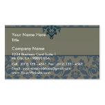 Regalos especiales florales azules elegantes plantillas de tarjetas personales
