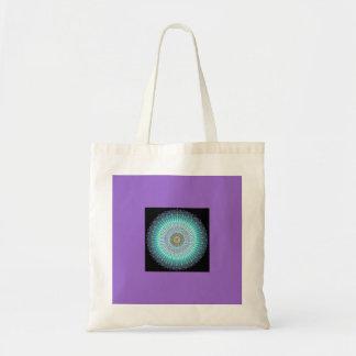 Regalos espirituales de la mandala bolsa lienzo