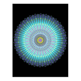 Regalos espirituales de la mandala postal