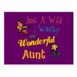 Regalos estupendos para las tías tarjetas postales