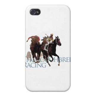 Regalos excelentes de la carrera de caballos iPhone 4/4S fundas